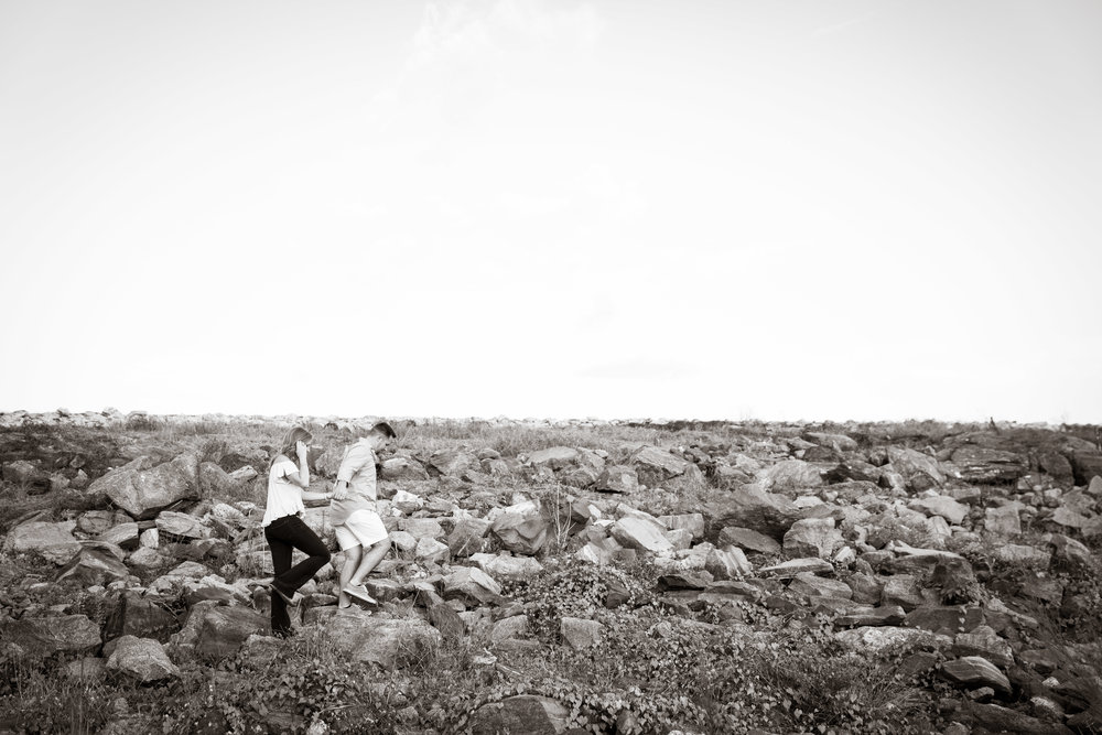Climbing higher and higher | Engagement Session in Clemson SC