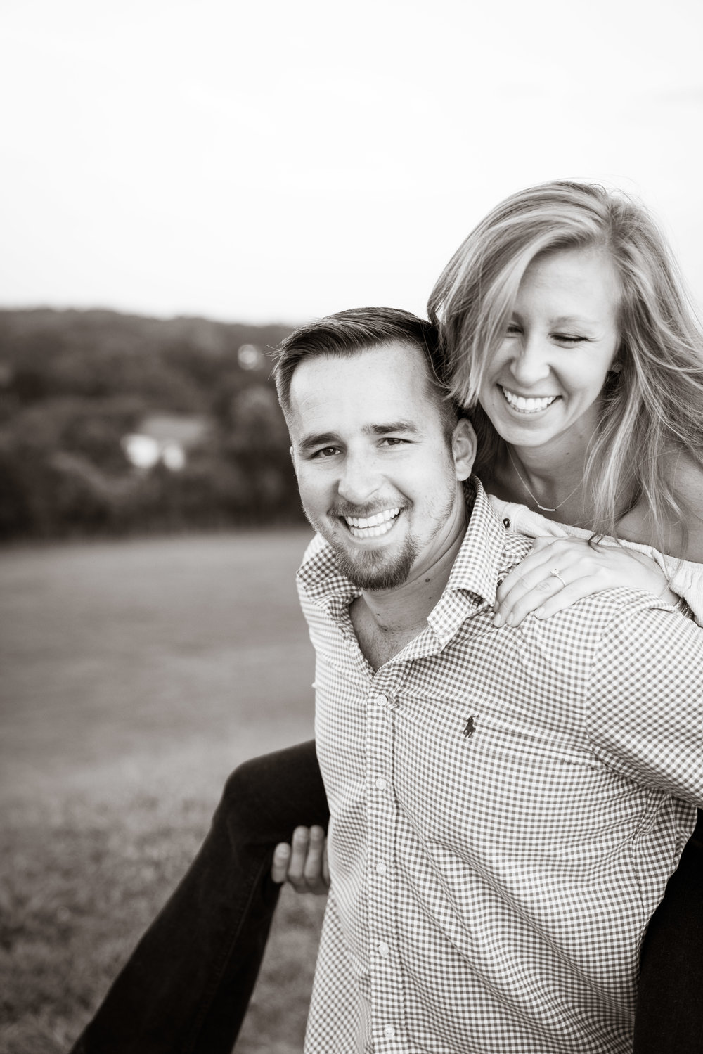 Having fun | Engagement Session in Clemson SC