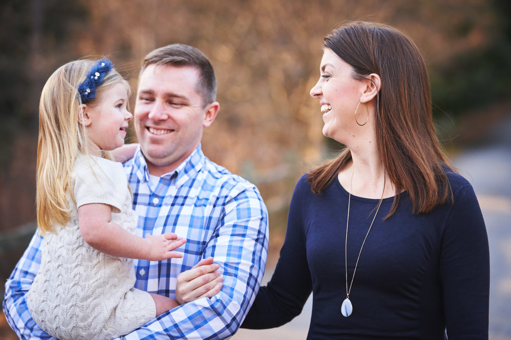 Family Walking | Family Photo Session at the Clemson Botanical Gardens