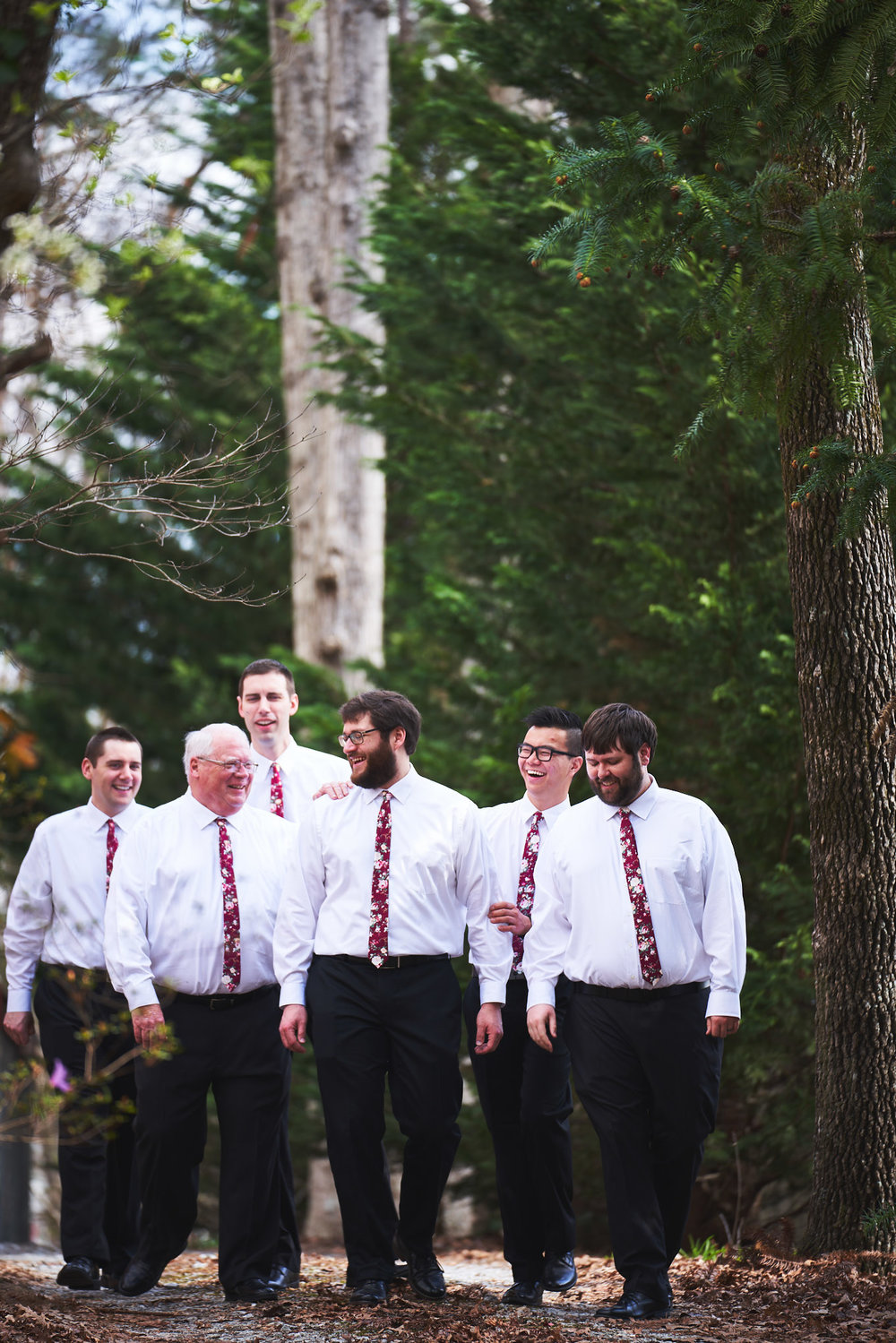 The groom and his men | Southern Bleachery in Taylors SC