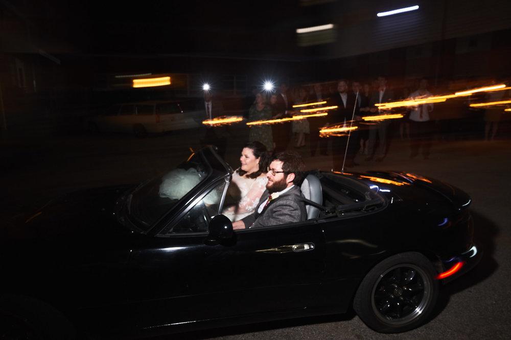 Bride and Grooms Getaway | Southern Bleachery in Taylors SC