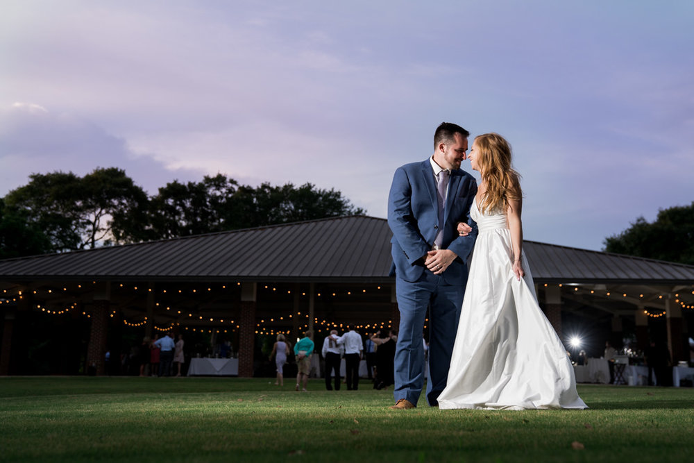 Wedding at The Warren and Virginia Owen Pavilion | Clemson, SC