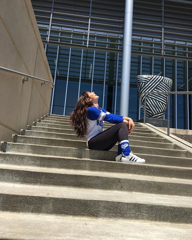 @margo_polooo rocking our Out To The Ballgame ⚾️ sock #shoplocalkc #kcroyals