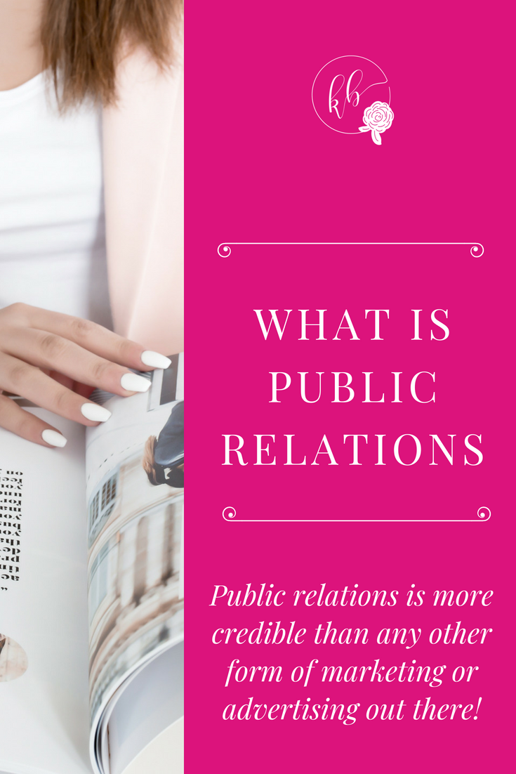 WHAT IS PUBLIC RELATIONS PINTEREST GRAPHIC