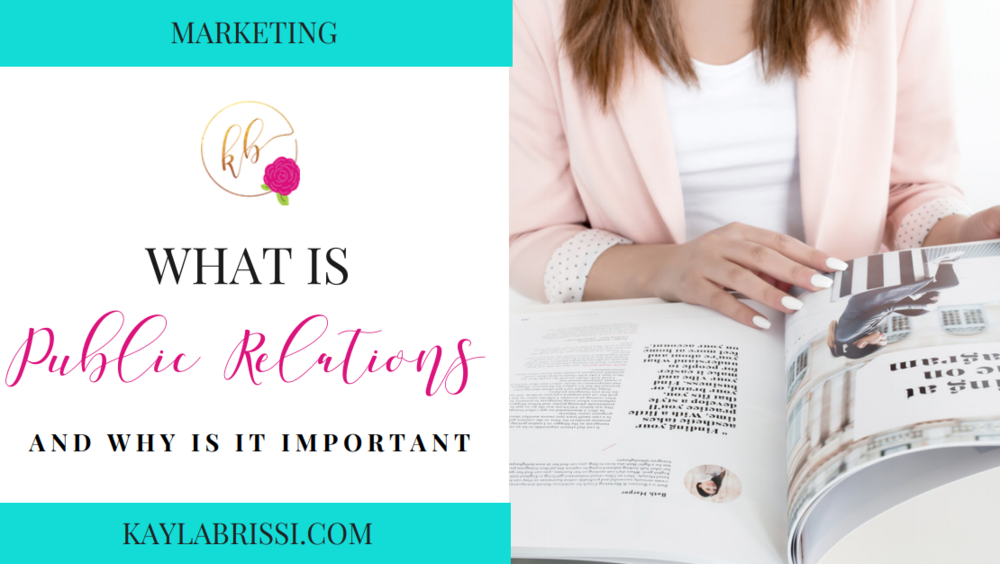 WHAT IS PUBLIC RELATIONS BLOG BANNER