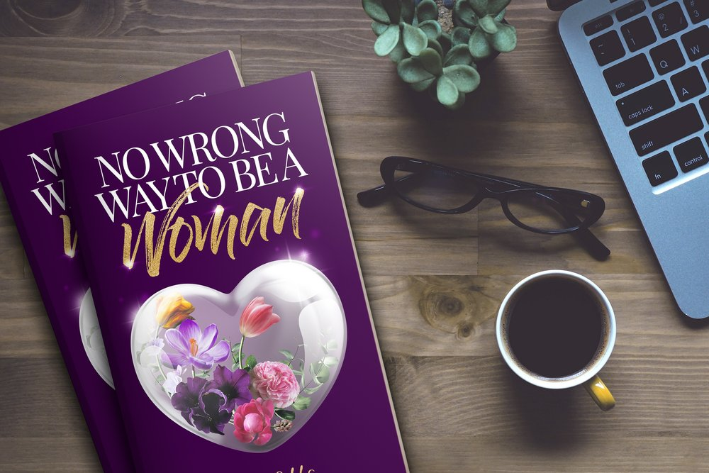 Best-Selling Book, No Wrong Way To Be A Woman by Kelli Gibbs