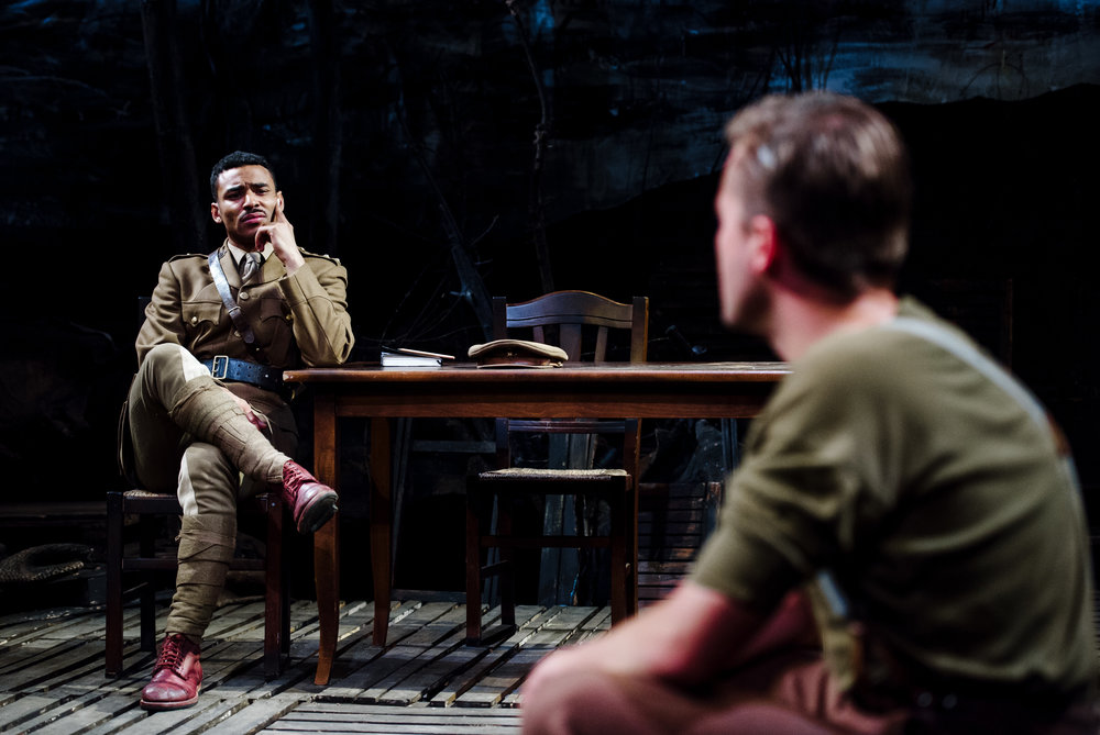 (c) Alex Brenner, no use without credit permitted, Dilated Theatre - For King and Country @ Southwark Playhouse (_DSC0010).jpg