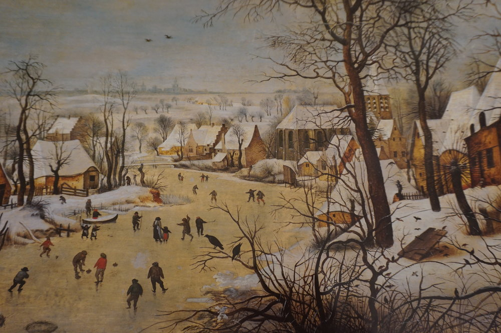 Pieter Breughel: Winter Lanscape