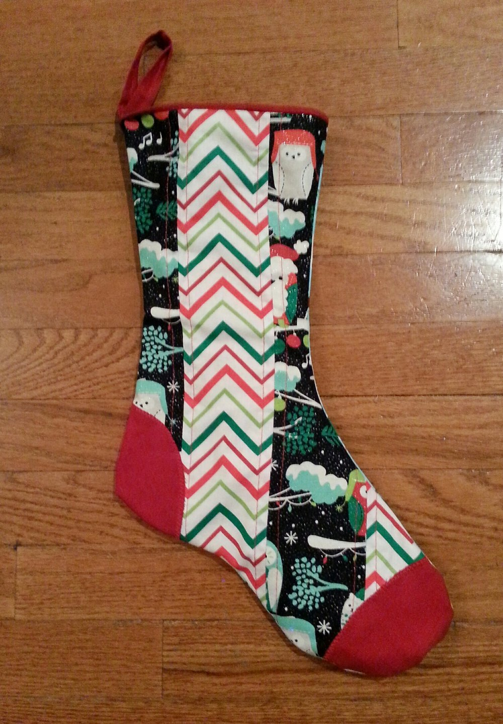 Handsomepants' stocking