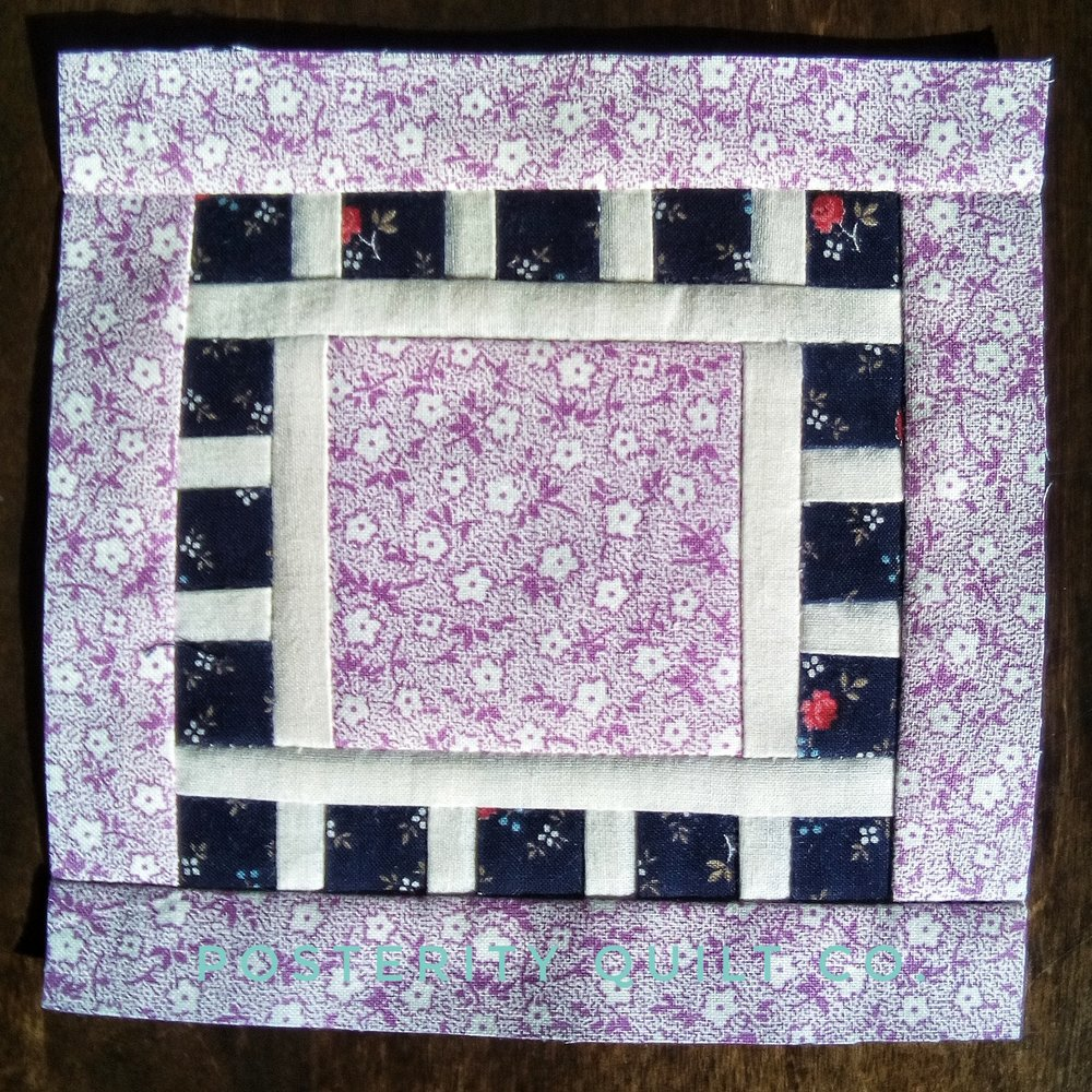The Sylvia block can be found on page 18 of the  1930's Farmer's Wife Sampler  (page 254 for template instructions.)