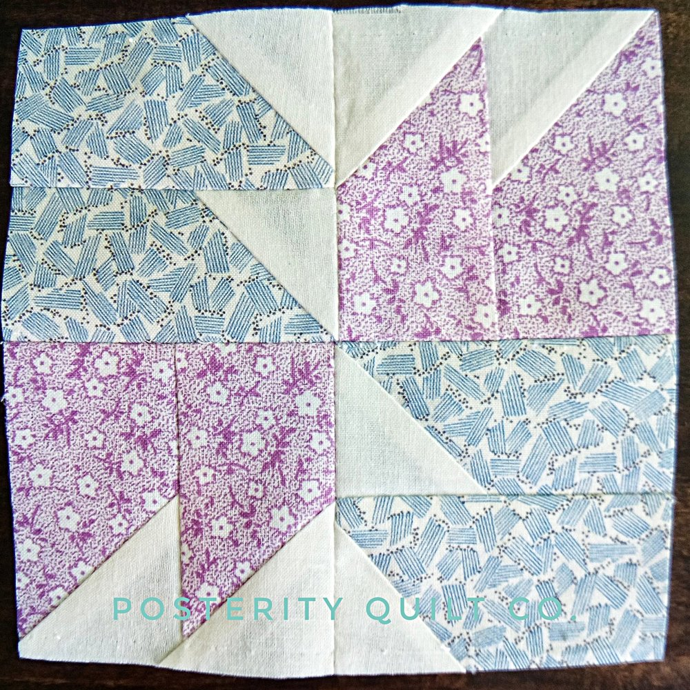 The Katherine block can be found on page 28 of the  1930's Farmer's Wife Sampler  (page 208 for template instructions.)