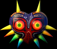 The mask from the game.