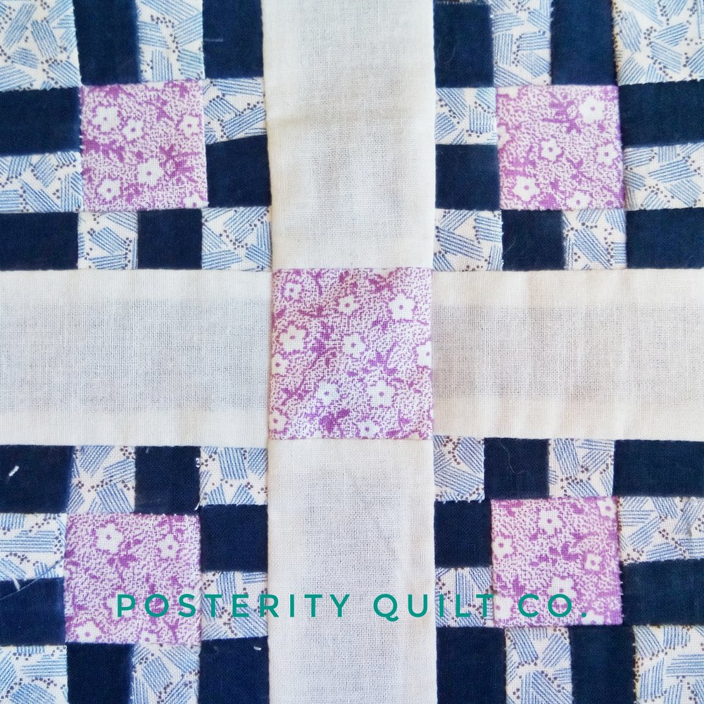 The Monette block can be found on page 127 of the  1930's Farmer's Wife Sampler  (page 223 for template instructions.)