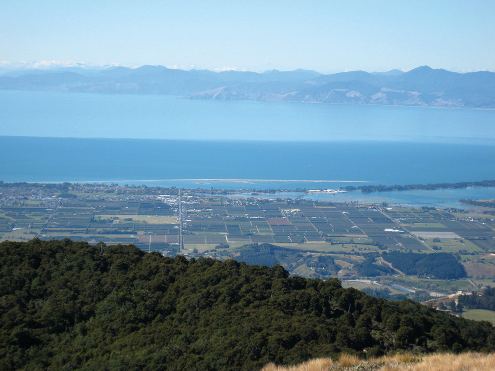 Motueka lands and Tasman Bay