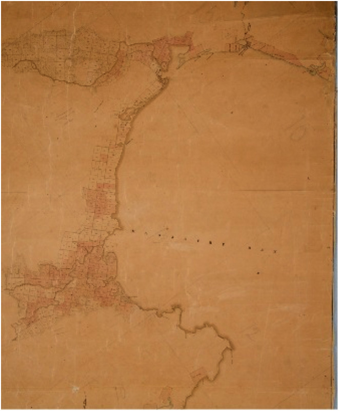 New Zealand Company Massacre Bay Map
