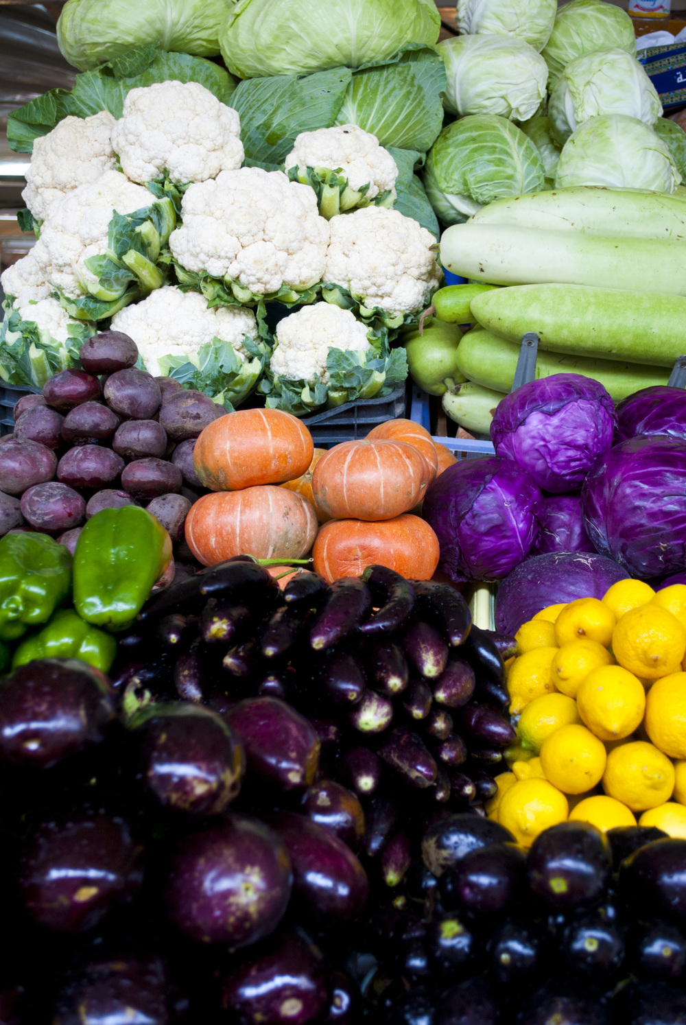 041411Dubai Pumpkins Eggplants and Cauliflowers