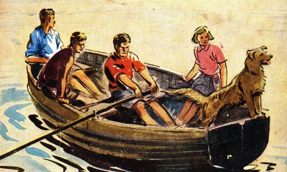 The Famous Five embark on another adventure...