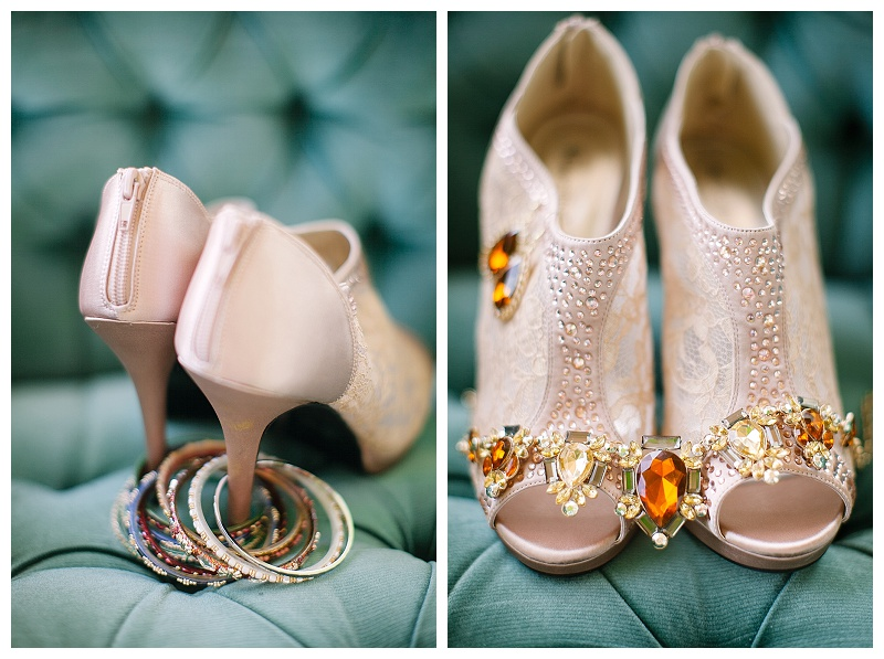 Bridal shoes | Bridal jewelry | Jessicawonders.com | MN Wedding Planner