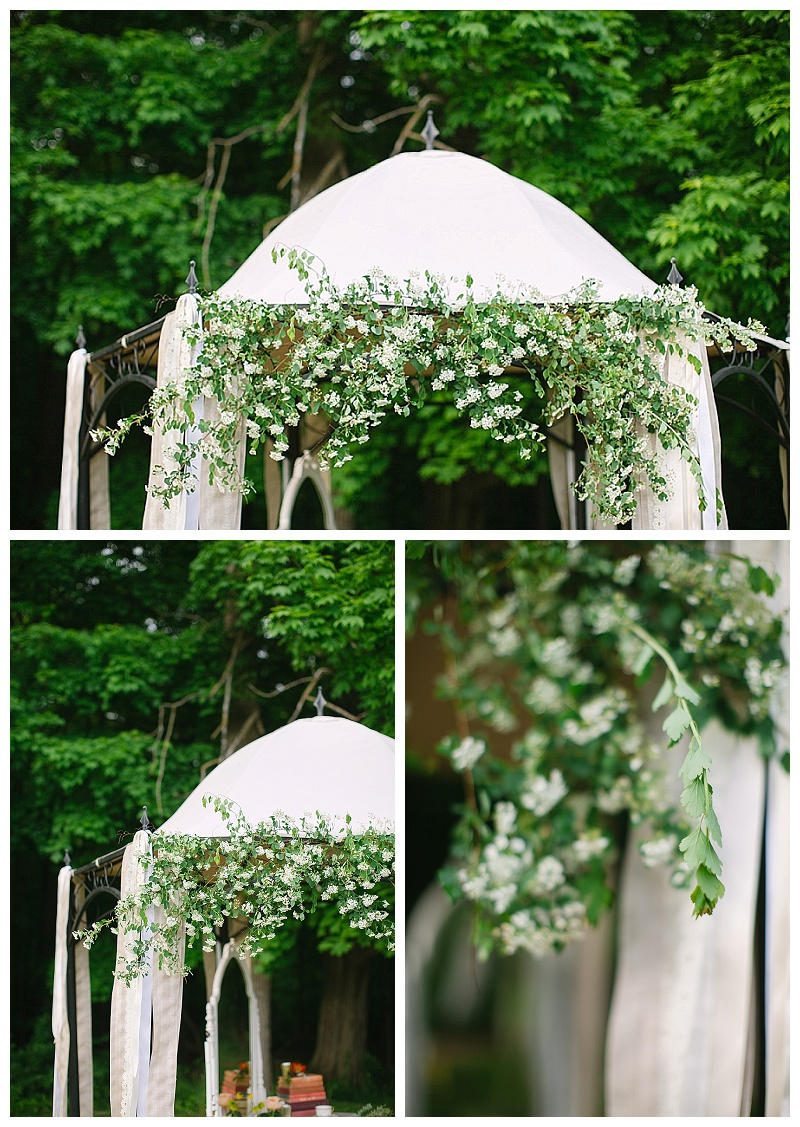 Bridal canopy | Jessicawonders.com | MN Wedding Planner