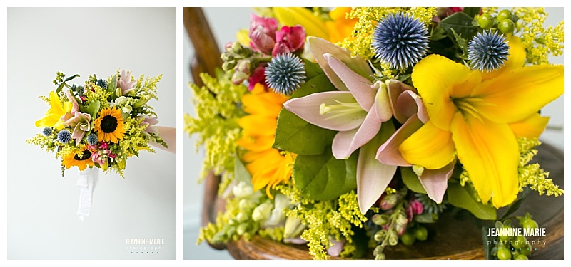 July bouquet ,Jessica Wonders Events, Jeannine Marie Photography, Minnesota