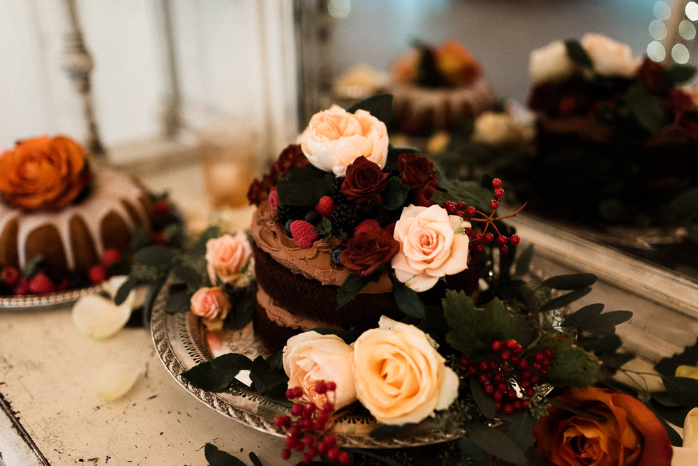 Camrose Hill Flower Farm, Stillwater, MN Wedding. Maroon, Orange, Peach, and Ivory wedding colors. Whimsical Fall Wedding Décor. Fall Wedding in October. Jessica Wonders Events