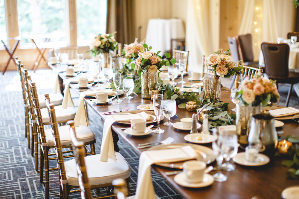 Ivory, Blush and Beige wedding colors. Classic Spring Wedding Décor. Jessica Wonders Events