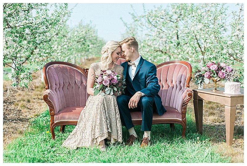 Engagement Photo Shoot, Orchard Photo Shoot, MN Wedding Designer, Jessica Wonders Events, Minnesota Event Florist, Anna Grinets Photography