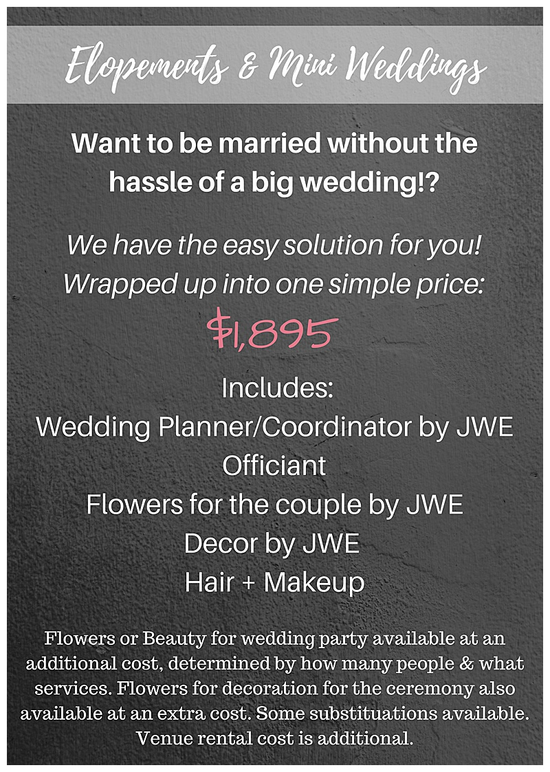 Jessica Wonders Events Wedding Planning and Floral Design