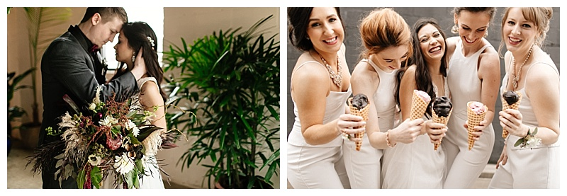 Jessica Wonders Events Whit Jumpsuit Bridesmaids