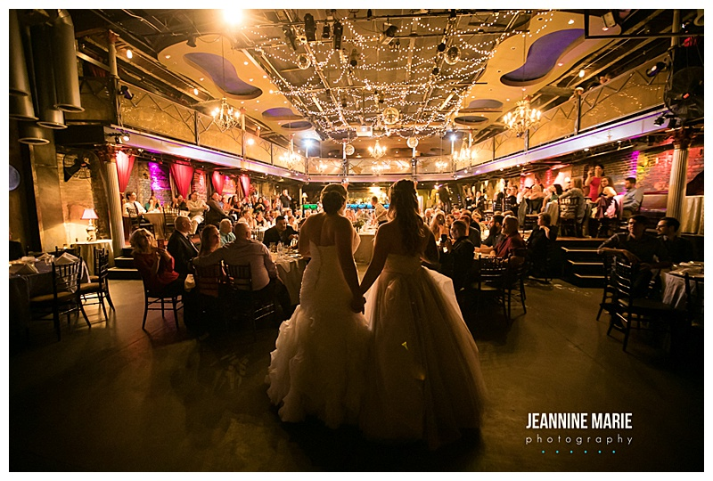 Loring Bar and Restaurant Wedding Ceremony and Varisty Theater Wedding Reception, Minneapolis Wedding. Grey and Purple wedding colors. Fall Wedding Décor. Jessica Wonders Events
