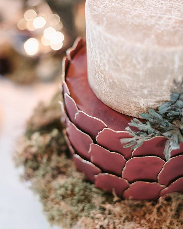 A cake inspired by Lord of the Rings.  Photo @ericlundgren  Cake @eicakes