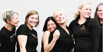 Meet the Team We're experienced, certified teachers who are excited to share our passion for yoga.