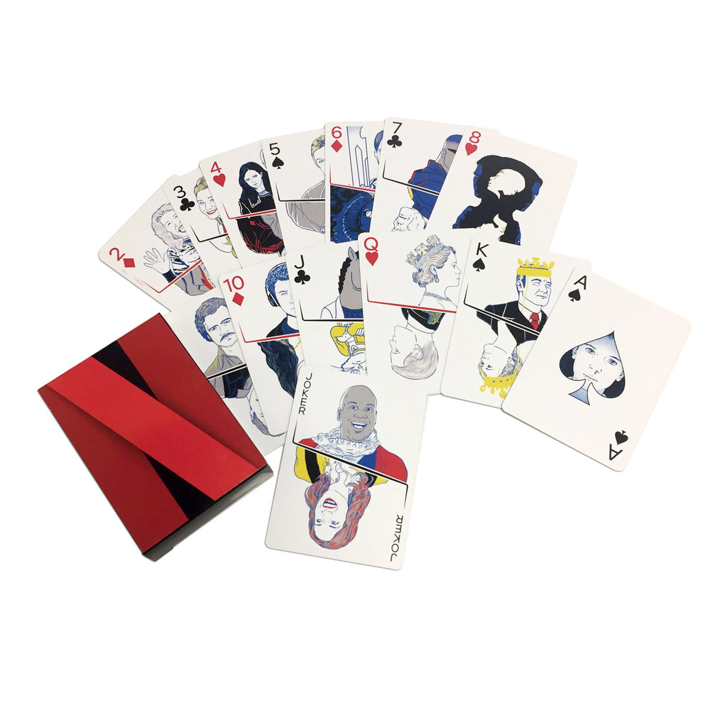 CUSTOM NETFLIX PLAYING CARDS