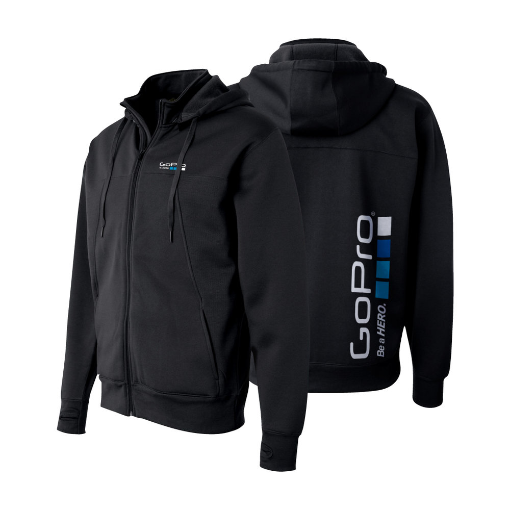 ALL-WEATHER FULL-ZIP JACKET WITH REMOvABLE HOOD