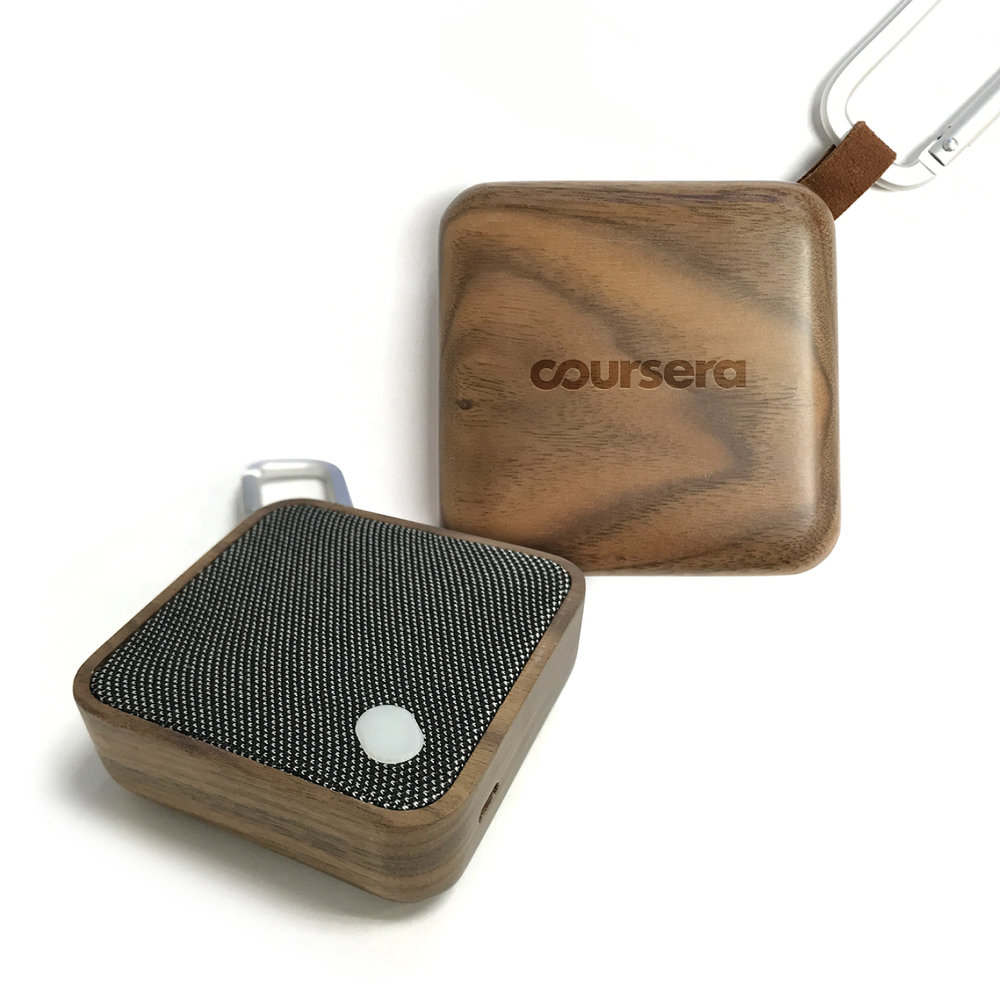 COURSERA PORTABLE BLUETOOTH SPEAKER