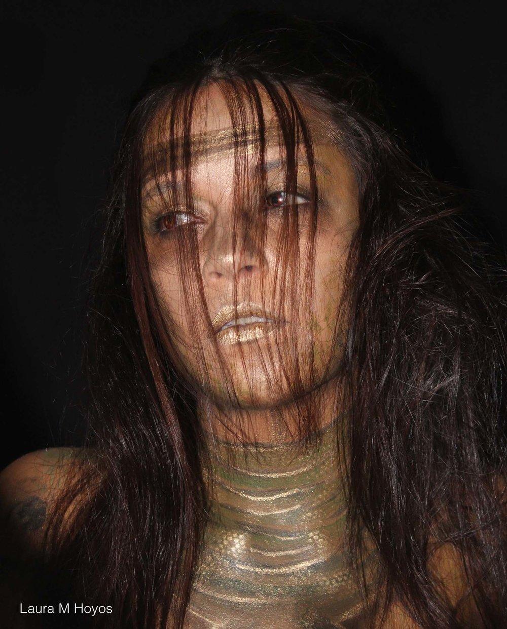 Echantress Inspired face paint