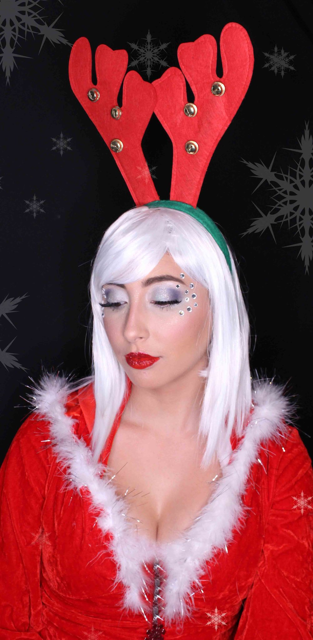 Santa's helper adult makeup