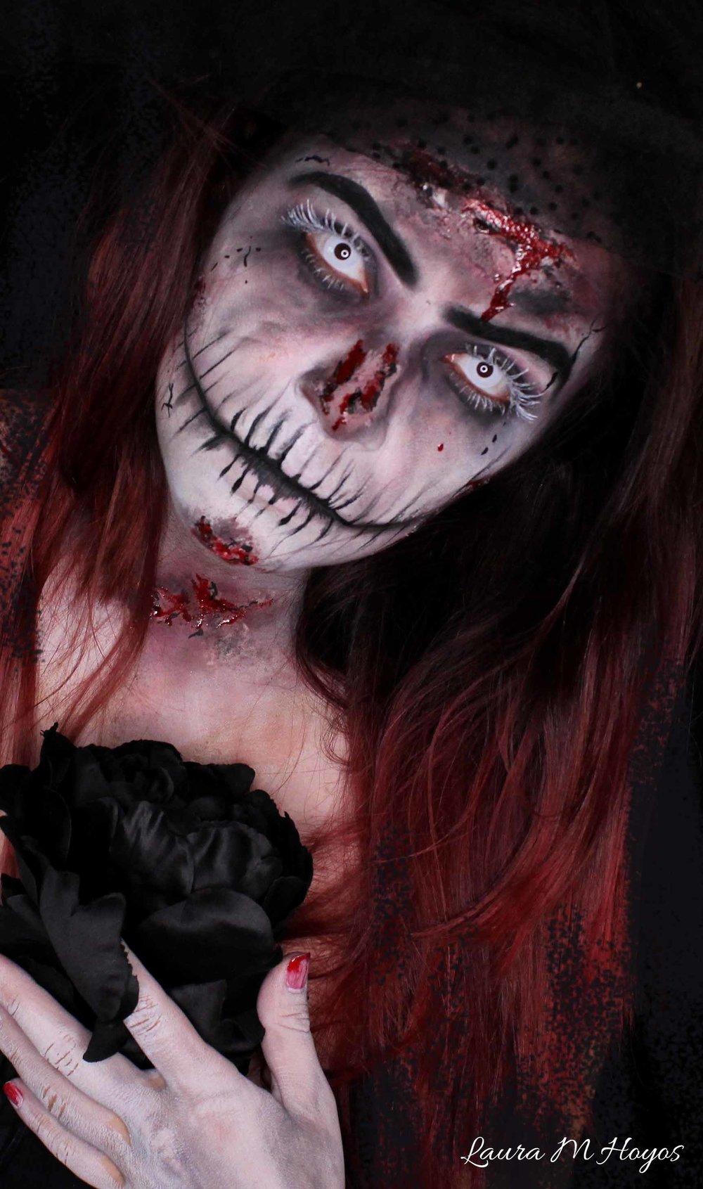 Dead Bride Makeup