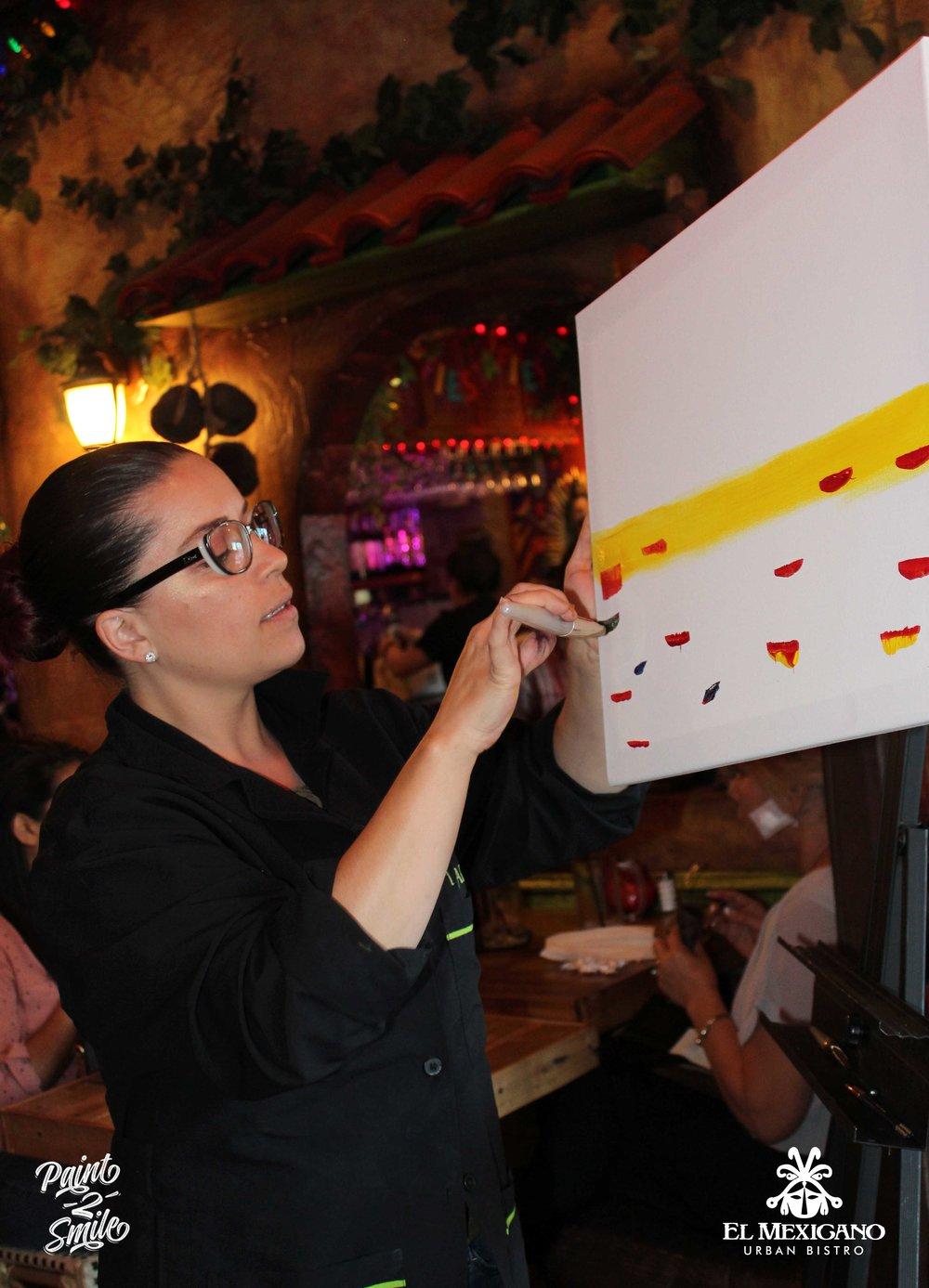 paint night instructor
