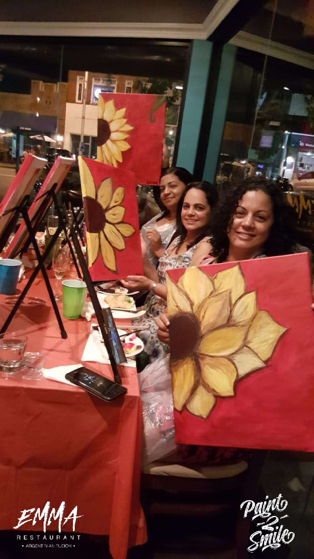girls night out paint night