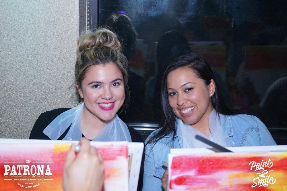 girls paint night