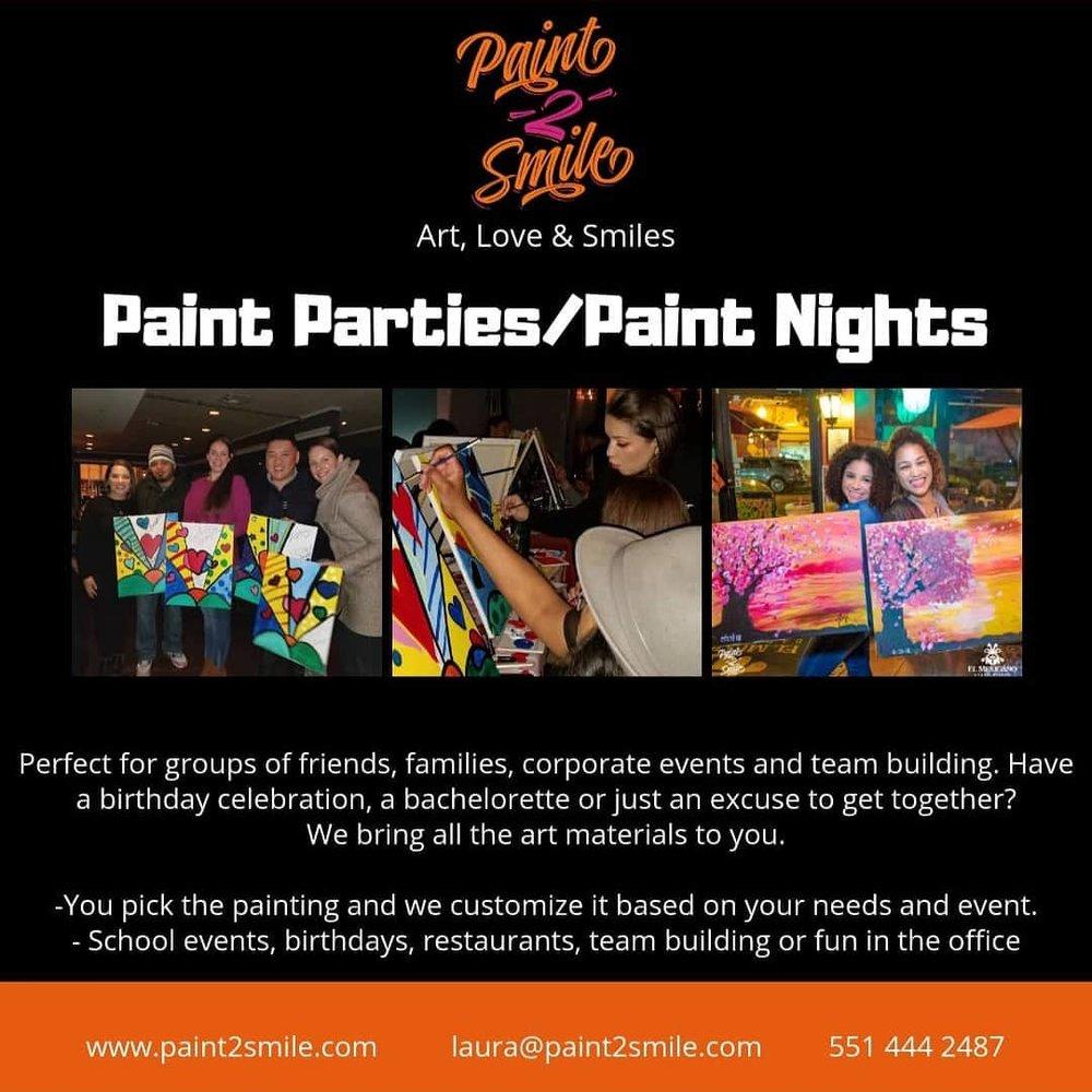 Adult Paint classes