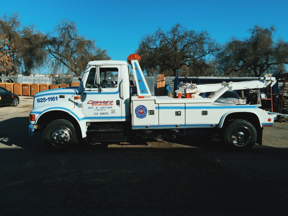 towing visalia