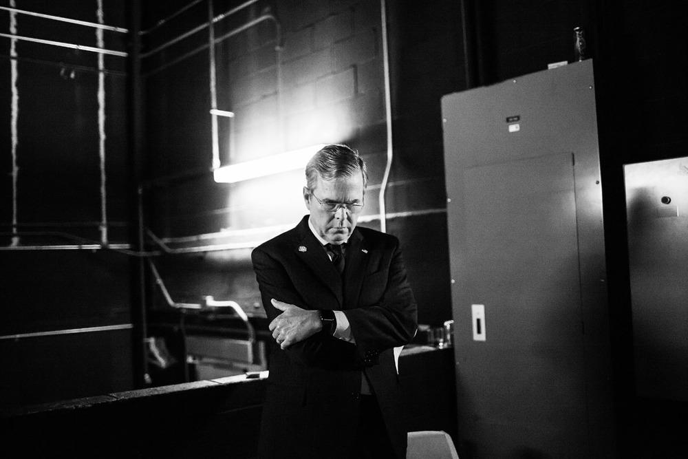 ჯებ ბუში. გილ ლავის ფოტო. ხელოვანის თავაზიანი ნებართვით
