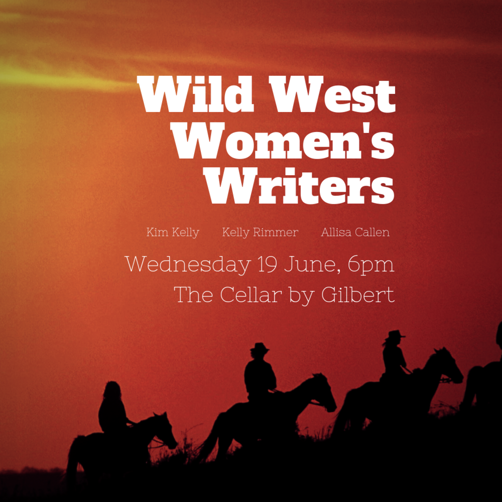 Wild West Women's Writers - Three popular writers from the Central West of New South Wales chat about their new novels – and share the secrets of their writing success. Kelly Rimmer, Alissa Callen and Kim Kelly each write very different stories but share a dedicated passion for telling them. Come and be inspired by their tales tall and true!Join Kelly, Alissa and Kim for an evening of conversation, wine and food at The Cellar by Gilbert. Ticket price includes a glass of wine on arrival and a mini slider, with additional drinks and platters available for purchase.