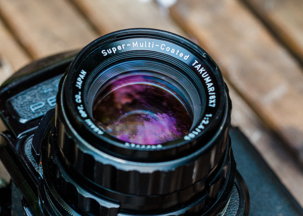 Super Multi Coated Takumar Pentax 6x7 105mm f/2.4 Lens