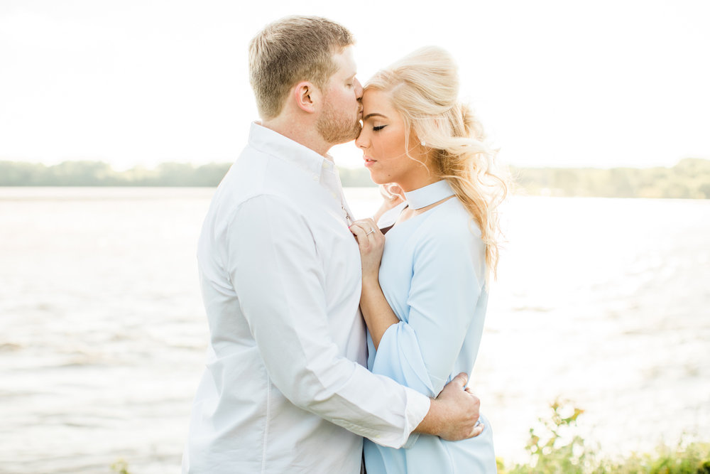 Falls of the Ohio Engagement Photographer