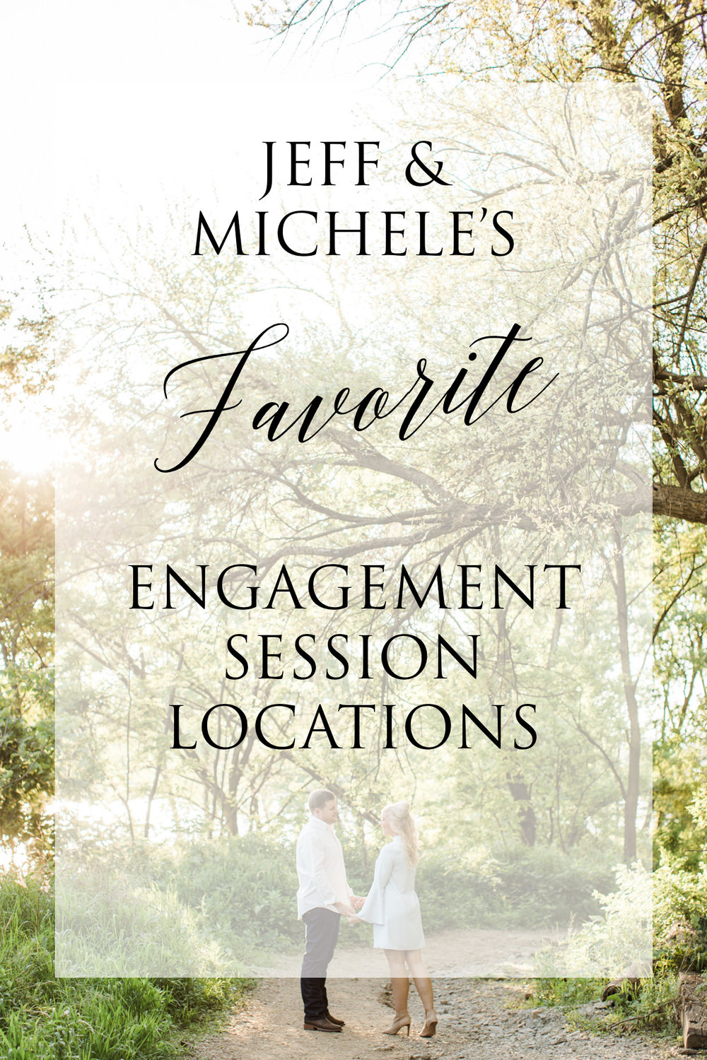 Engagement Session Locations - Our couples often ask for suggestions when it comes to engagement session locations, so we wanted to offer some insight about our favorite places to determine which might be a great fit for you!...read more