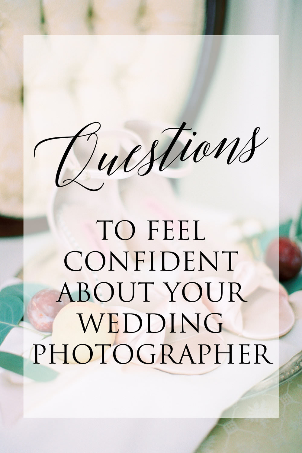 Choosing Your Wedding Photographer Advice - If you haven't started looking at photographers already, you've probably heard that they're the most important and critical vendor decision you'll make. If that's not intimidating enough, you've maybe realized that the choice isn't between a few good options...read more