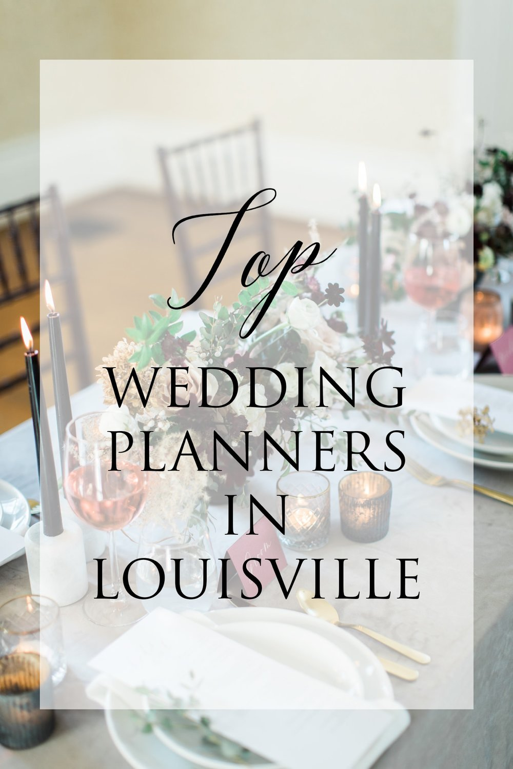 The List of Louisville Wedding Planners Find a Wedding Planner in
